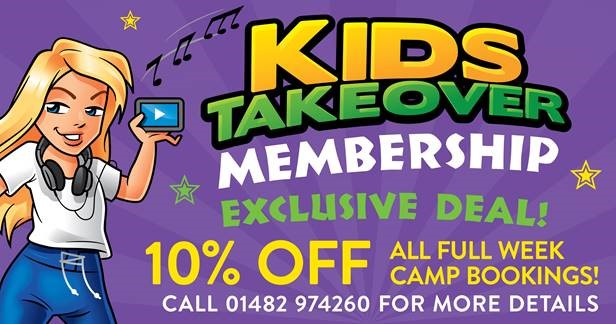 Kids Takeover Membership