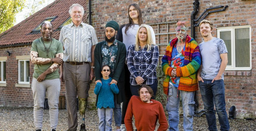 Ted Parrotman, Bashir Aziz, Harnaam Kaur, Kristin Riley (front), Aly Stosz, Rowdy Burton (front), Rachael Reynolds, Dan Cooper, Lucas Hayward	With varying differences and conditions the nine inhabitants of The House of Extraordinary People have come together to challenge each other and public perceptions of what it means to be normal. Bewholme, East Riding of Yorkshire